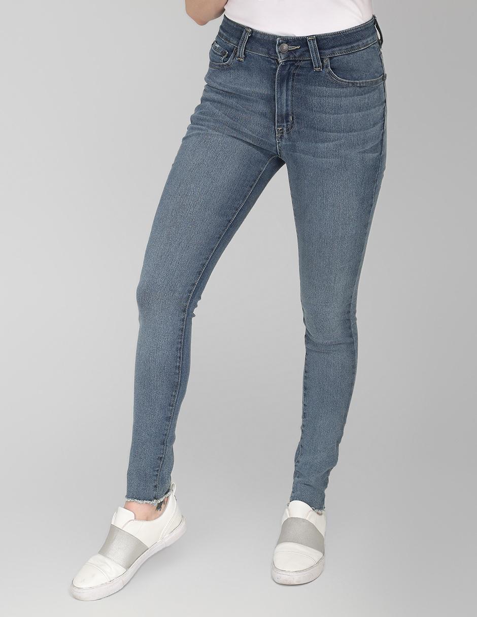 Jeans Aeropostale Corte Skinny Azul Medio En Liverpool