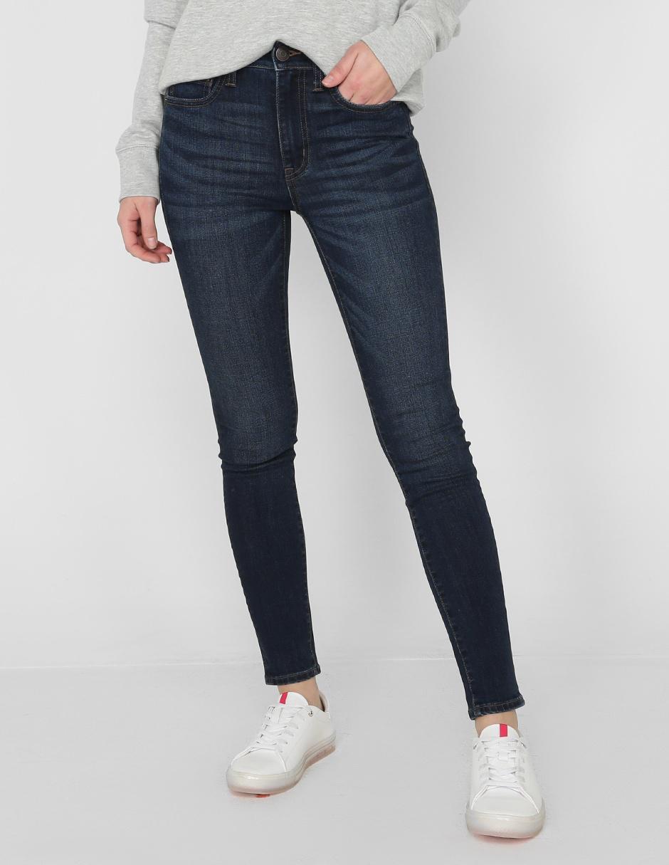 Jeans Aeropostale Corte Skinny Azul Marino En Liverpool