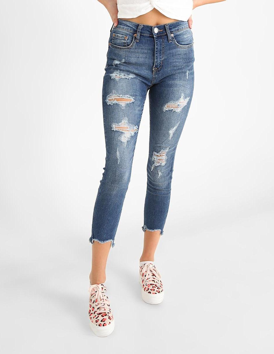 Jeans Aeropostale Corte Slim Azul Marino En Liverpool